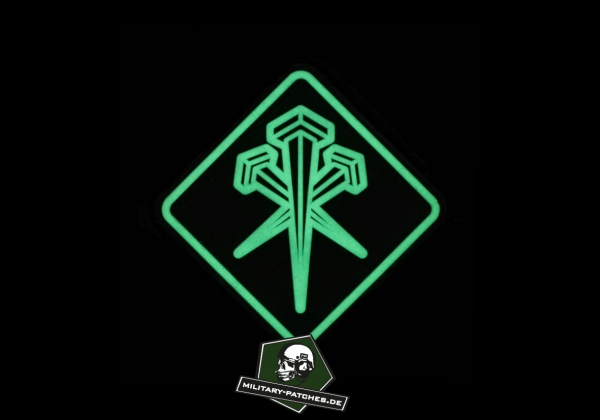 Patch L M S Gear Ranger Nails GITD (PVC-Rubber-Patch)