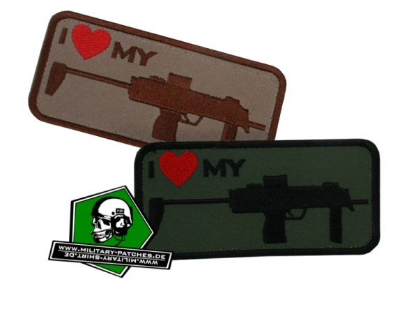 "Patch ""i love my ... MP7"""