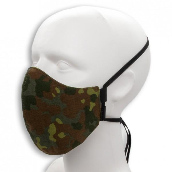 Behelfsmaske MASKDANS, 5farb-Flecktarn