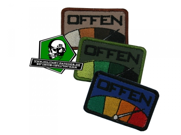 "Patch Barometer ""OFFEN"""