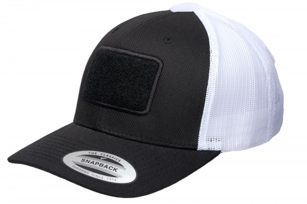 TACTICAL FLEXFIT Trucker Cap, black-white