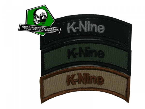 "Tab ""K-NINE"" (K9)"