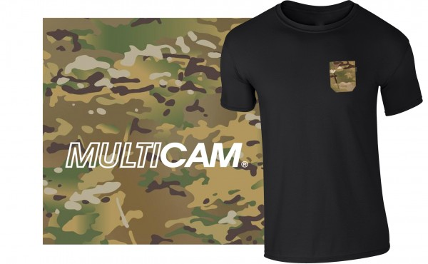 Pocket-T schwarz/multicam®
