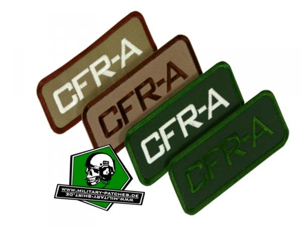 Patch CFR-A (Combat First Responder)