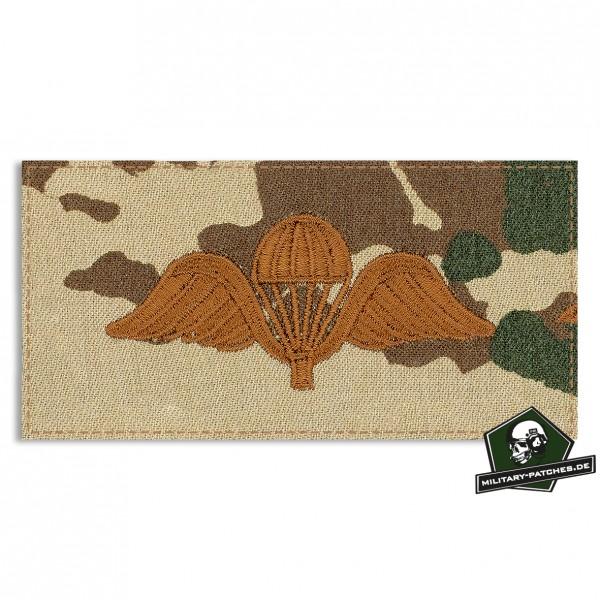 Fallschirmspringerabezeichen BELGIEN 3farb mit Klett