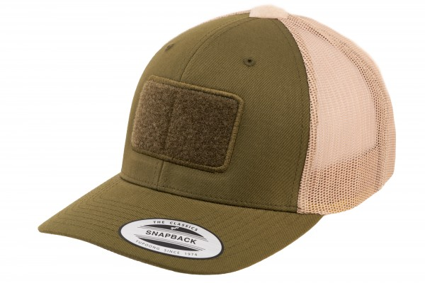 TACTICAL FLEXFIT Trucker Cap, desert-olive