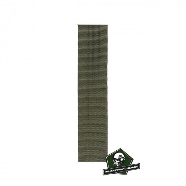 Einfassband Polyamid oliv 25mm breit Meterware