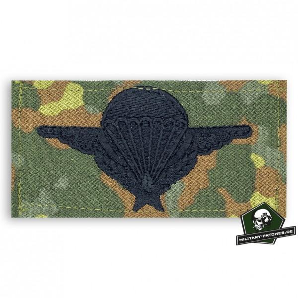 Fallschirmspringerabezeichen Frankreich 5farb/schwarz mit Klett