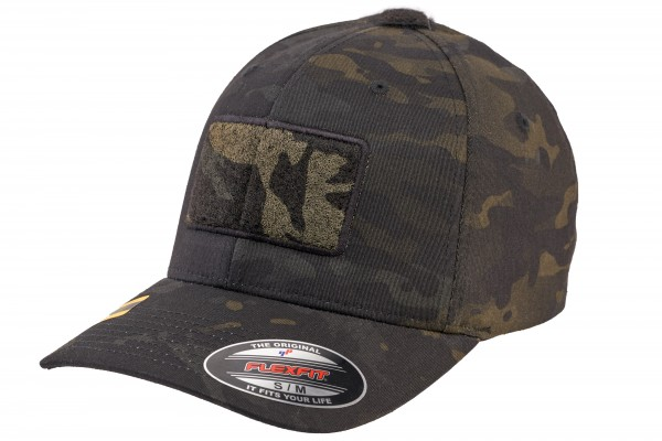 TACTICAL FLEXFIT TacCap, multicam-black