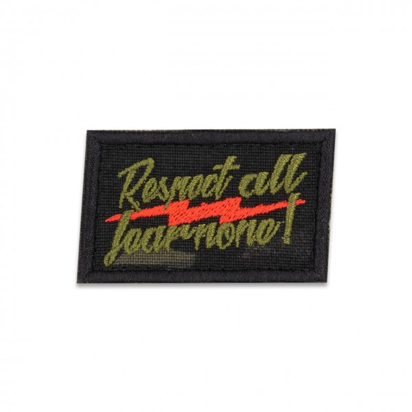 "Patch ""RESPECT ALL - FEAR NONE"" Multicam® black"
