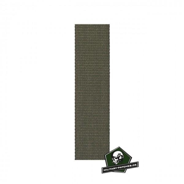 Webbing oliv 25mm breit Meterware