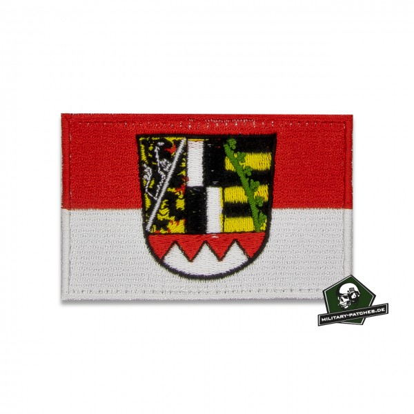 Patch Flagge Regierungsbezirk OBERFRANKEN