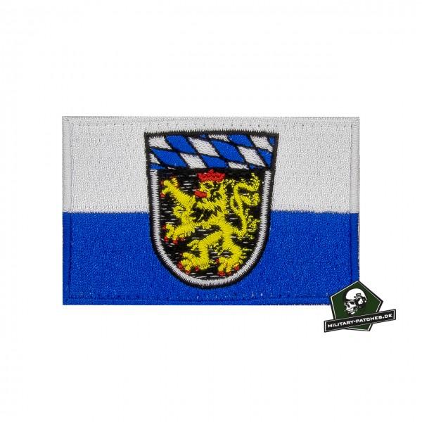 Patch Flagge Regierungsbezirk OBERBAYERN