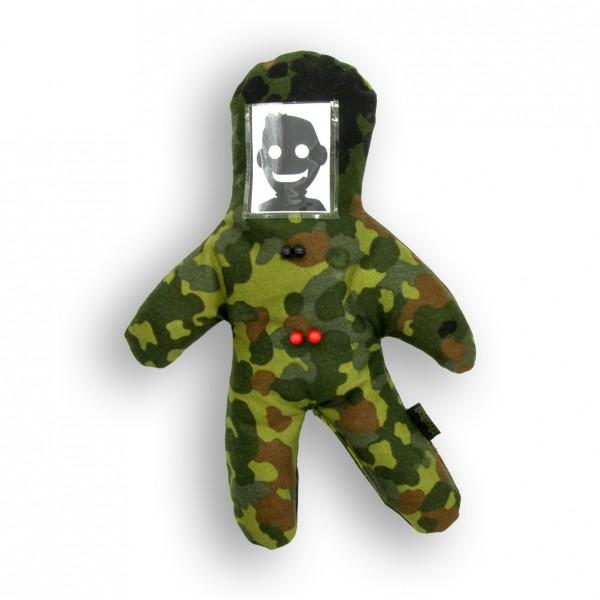 TVWG VOODOO-Puppe, 5farb FLECKTARN