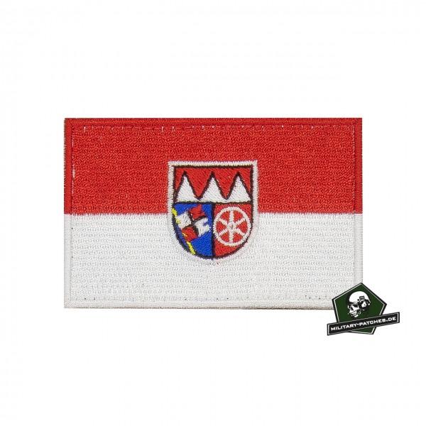 Patch Flagge Regierungsbezirk UNTERFRANKEN