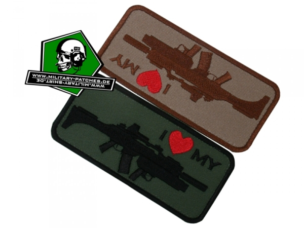 "Patch ""i love my ... G36k"""