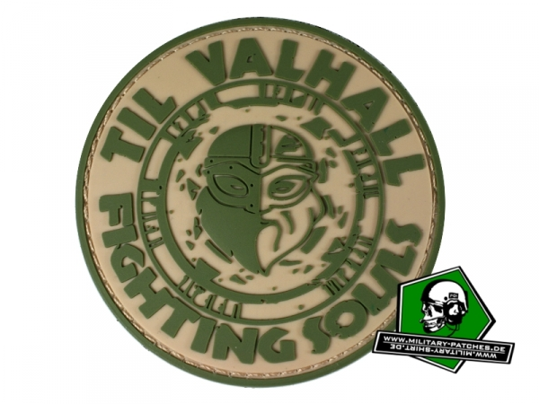 TIL VALHALL Viking PVC-Rubber-Patch