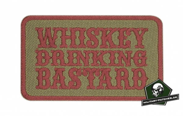 "Patch ""WHISKEY DRINKING BASTARD"" (Cordura)"