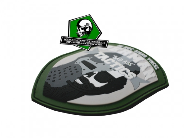 "German ""Bad Ass"" Tactics PVC-Rubber-Patch"