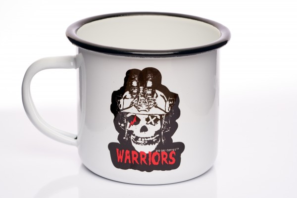 Tasse EMAILLE WARRIORS - MISFIT OPERATOR 300ml