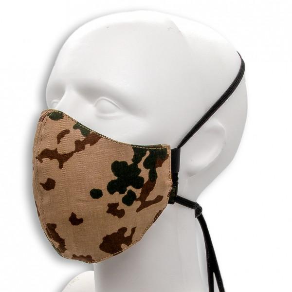 Behelfsmaske MASKDANS, 3farb-Flecktarn