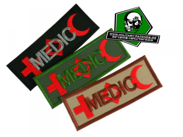 Patch MEDIC International (Kennzeichnung)