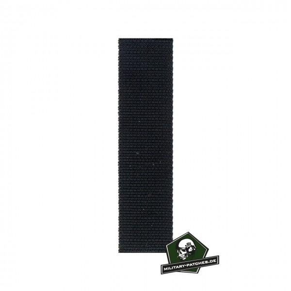 Webbing schwarz 50mm breit Meterware