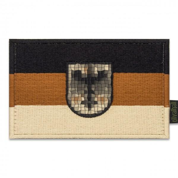TVWG Flagge BRD 130 x 85mm, desert