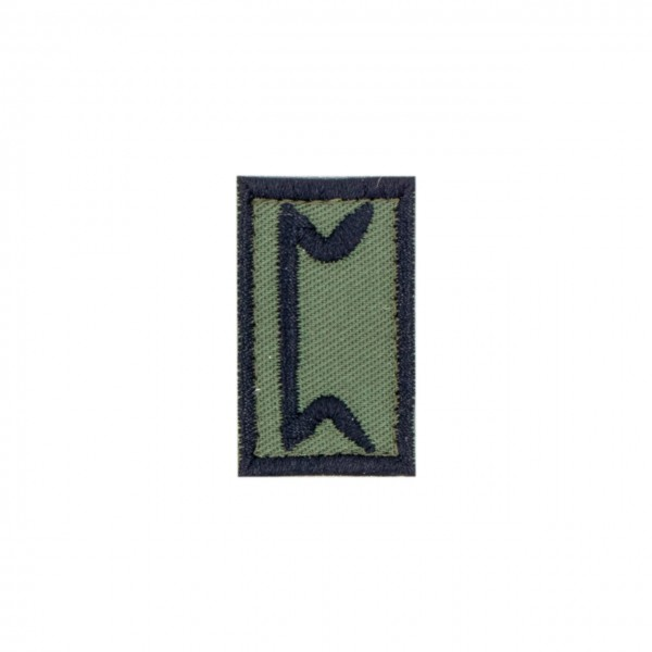 "Patch ""PERTHO"", oliv"