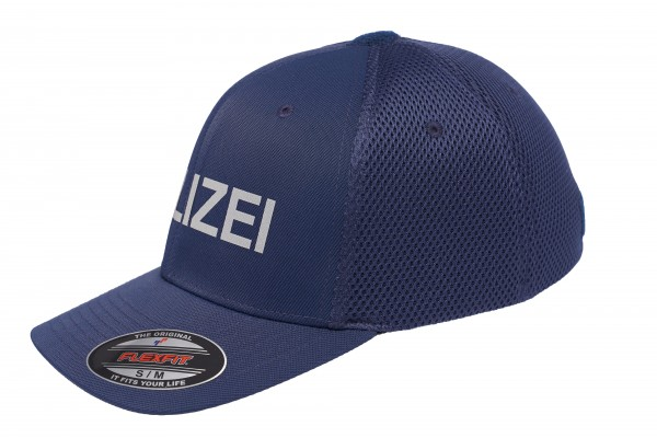 TACTICAL FLEXFIT Mesh Cap POLIZEI, navy