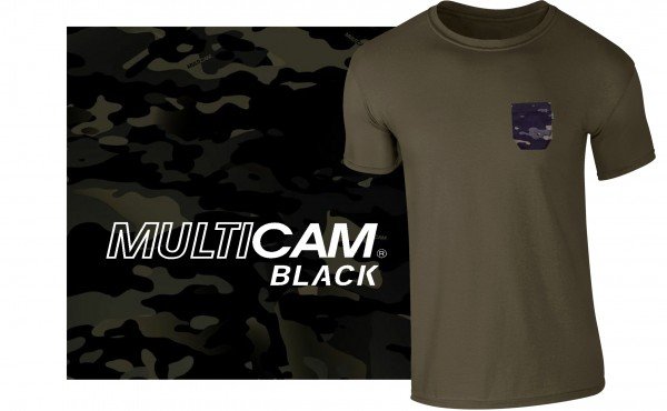 Pocket-T oliv/multicam®black