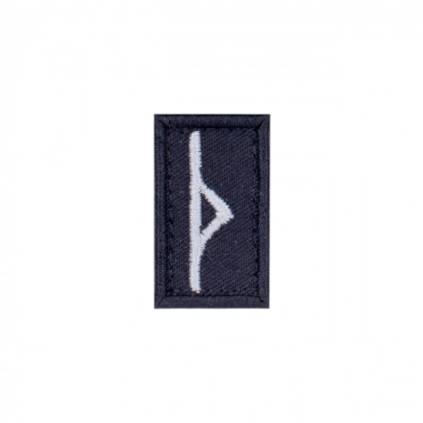 "Patch ""THURISAZ"", schwarz"