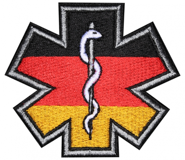 Patch GERMAN Star-of-life