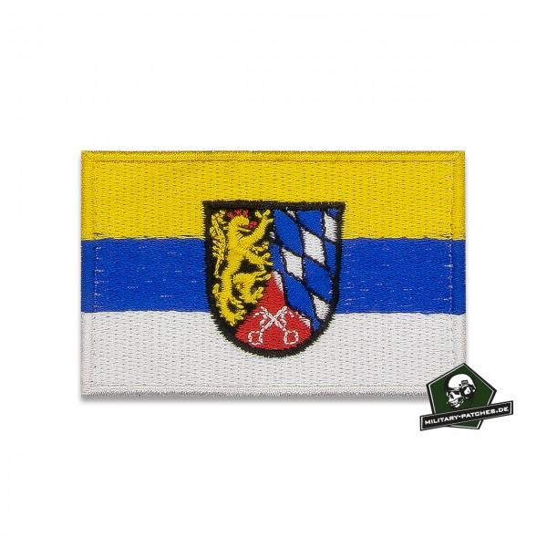 Patch Flagge Regierungsbezirk OBERPFALZ