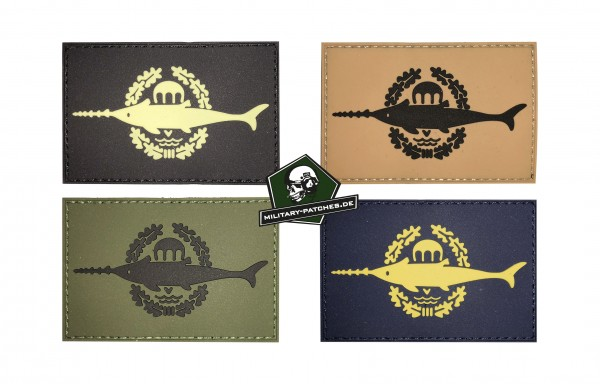 Patch Kampschwimmer (PVC-Rubber-Patch)