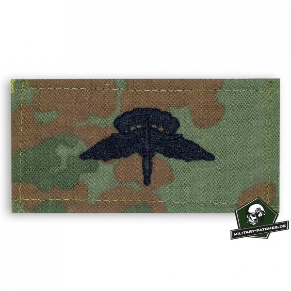 Fallschirmspringerabezeichen USA MFF Basic, 5farb mit Klett