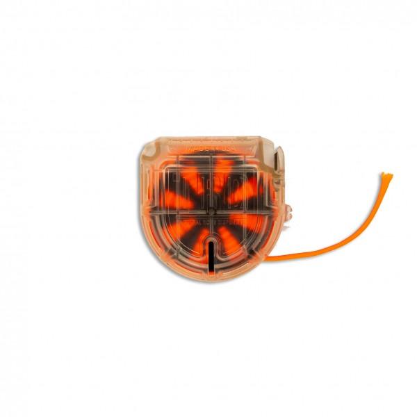 ARM TRD - Tactical Rope Dispenser, clear / orange