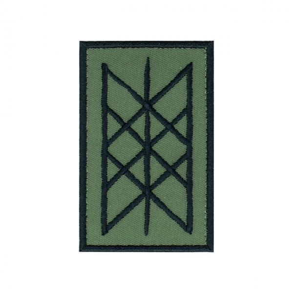 """Patch """"Netz von Wyrd"""" oliv"""