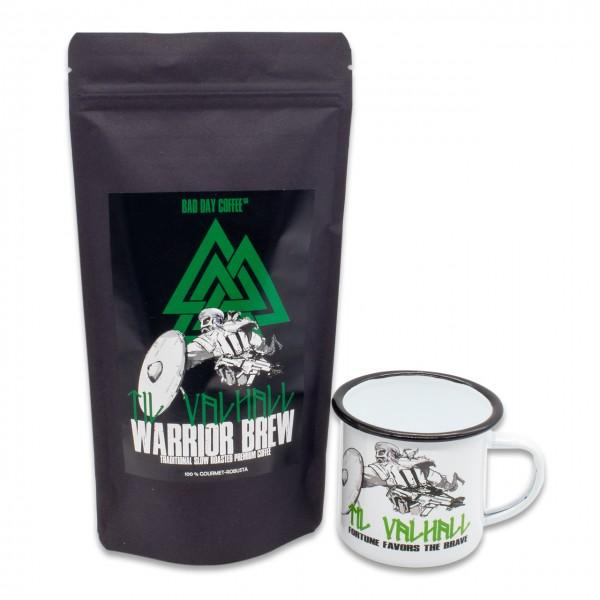 Bundle TIL VALHALL (250g Kaffee und Emailletasse) gemahlen
