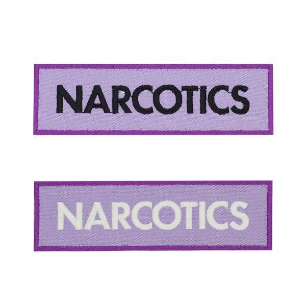 Markierung Medicpack 140 x 40mm - NARCOTICS