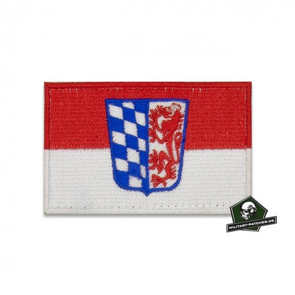 Patch Flagge Regierungsbezirk NIEDERBAYERN