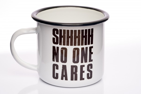 Tasse EMAILLE SHHHH 300ml