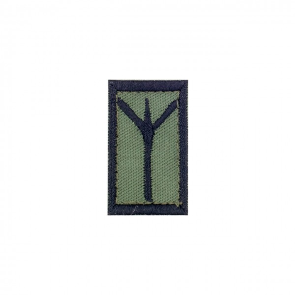 "Patch ""ALGIZ"", oliv"