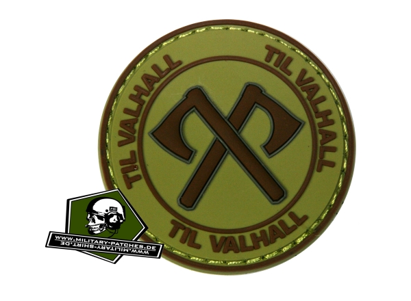 TIL VALHALL 50mm PVC-Rubber-Patch