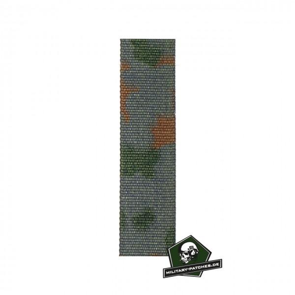 Webbing 5farb-Flecktarn 25mm breit Meterware