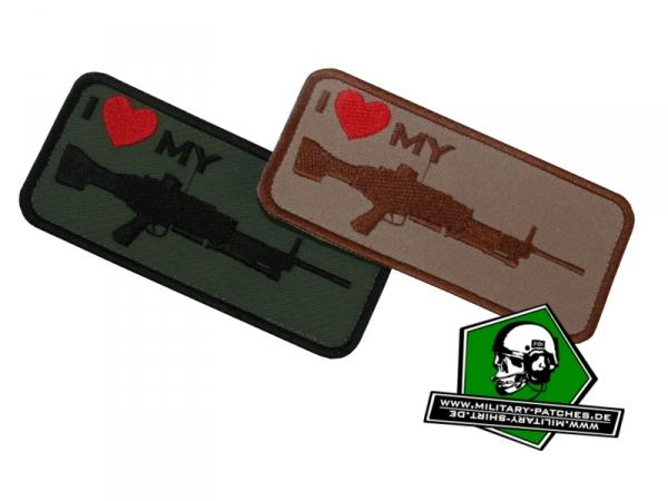 "Patch ""i love my ... MG4"""