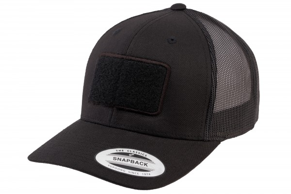 TACTICAL FLEXFIT Trucker Cap, schwarz