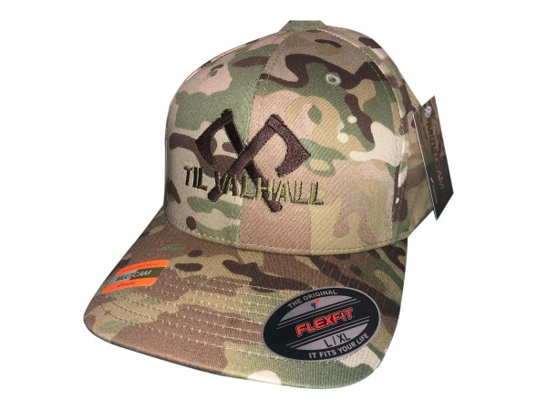 TACTICAL FLEXFIT CAP TIL VALHALL multicam