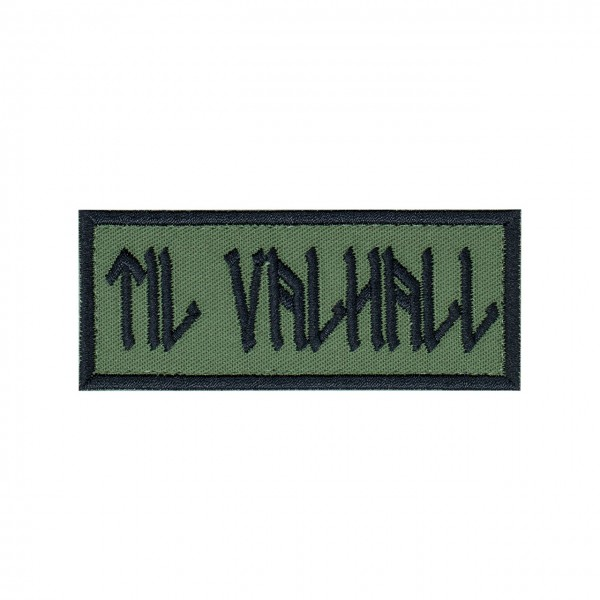 "Patch ""TIL VALHALL"", oliv"