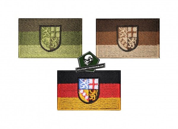 Patch Flagge SAARLAND
